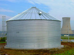 corrugated steel tank