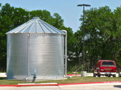 airport fire protection tank