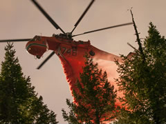 Helicopter Fire Suppression